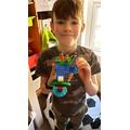An amazing Lego island!