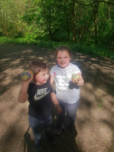 Christopher and Lacey have been hunting for pebble