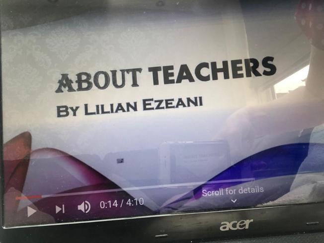 Lilian's wonderful presentation about teachers!