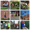 I went along to the Cottam Scarecrow Festival