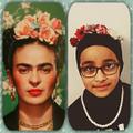 Look it's Frida Kahlo!