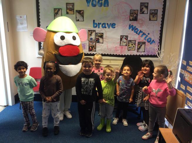 Meeting Mr Potato Head