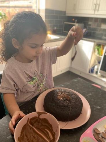 Amaara has been baking!