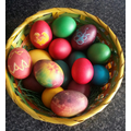 Gorgeous painted Easter eggs