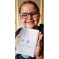 Working her way through a Maths challenge