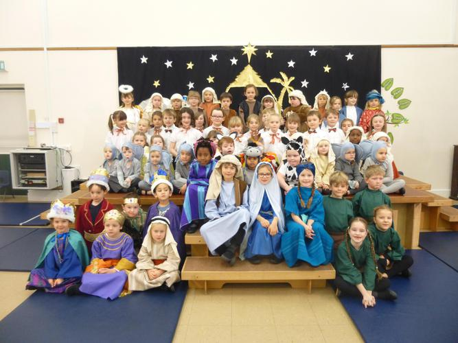 "Our Nativity  was called ""A Present for the Baby""."