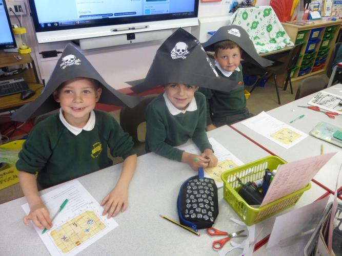 Class2 pirates have been sailing the oceans.......