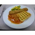 Fishfingers & Potato Waffle