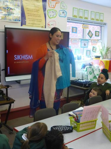 She told us about life as a Sikh.