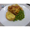 Lasagne & Garlic Bread