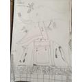 Wonderful sketch- lots of detail! Carter's work