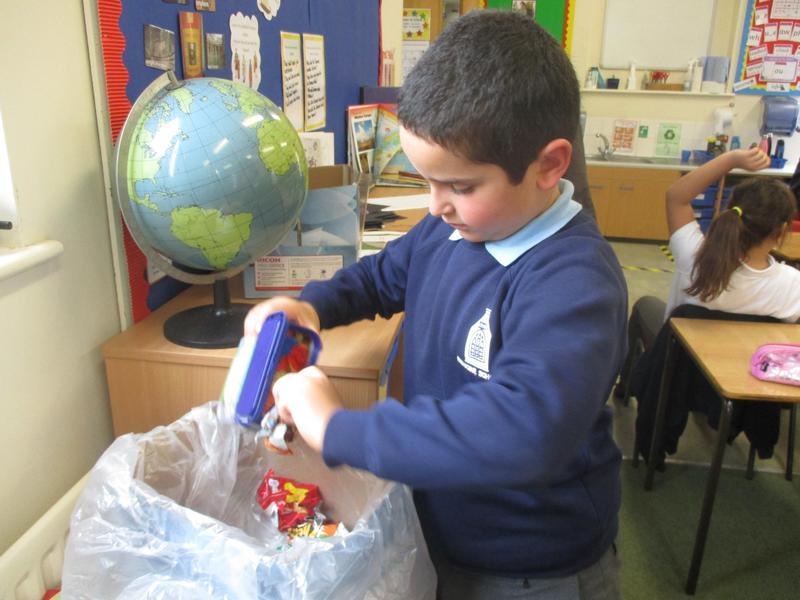 Crisp packet recycling