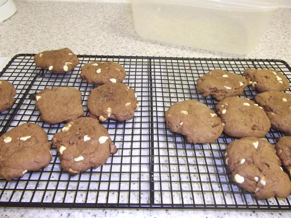 Double Chocolate Shortbreads