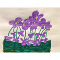 What lovelt flowers! by Oliver