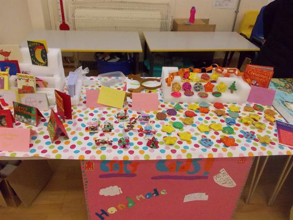 Our Young Enterprise stalls