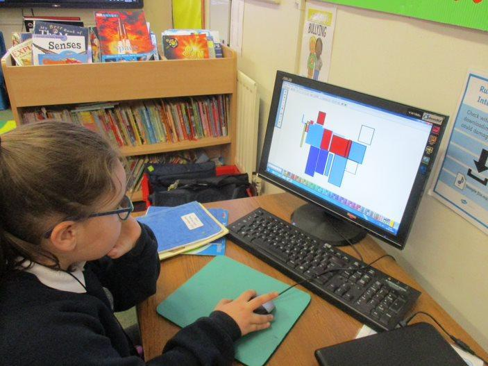 Creating Mondrian pictures