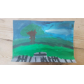 Wonderful use of colour! Artwork by Ethan