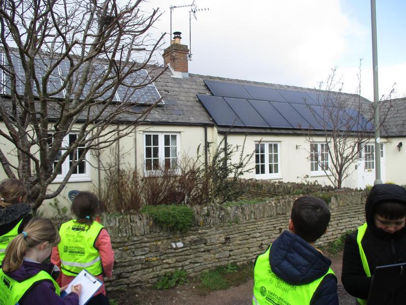 Solar panels for sustainability!