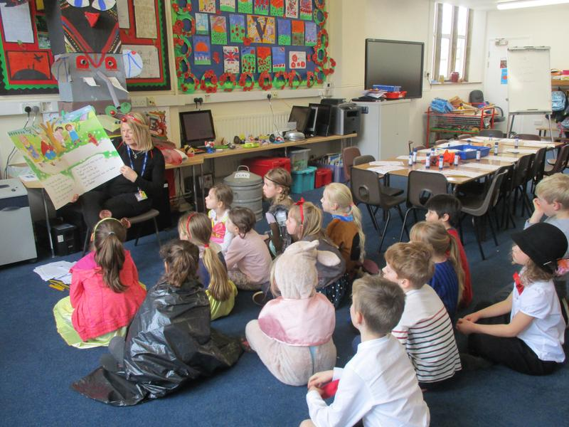 Storytelling on World Book Day