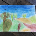 Caleb's amazing use of colour - wow!