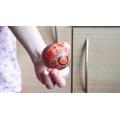 Jessamy's egg angle 2