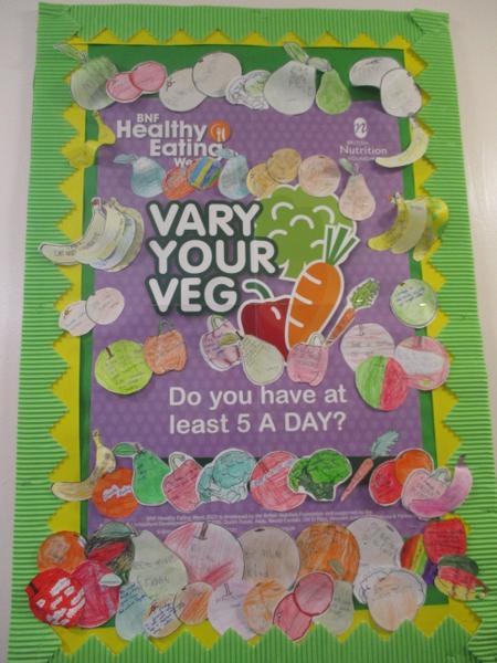 Healthy Eating week pledges