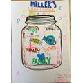 Miller's jar overflowing with gratitude!