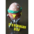 Burger Egg by Kanya