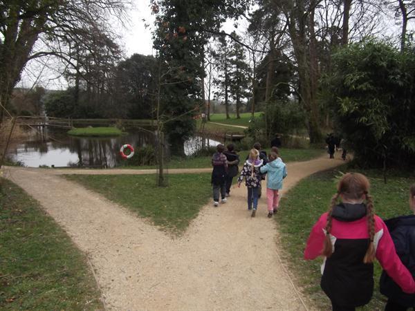 Going orienteering