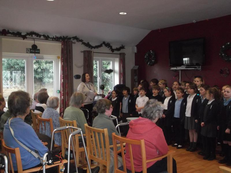 Enstone House for Christmas Carols