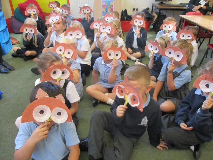 'Fly By Night' owl masks
