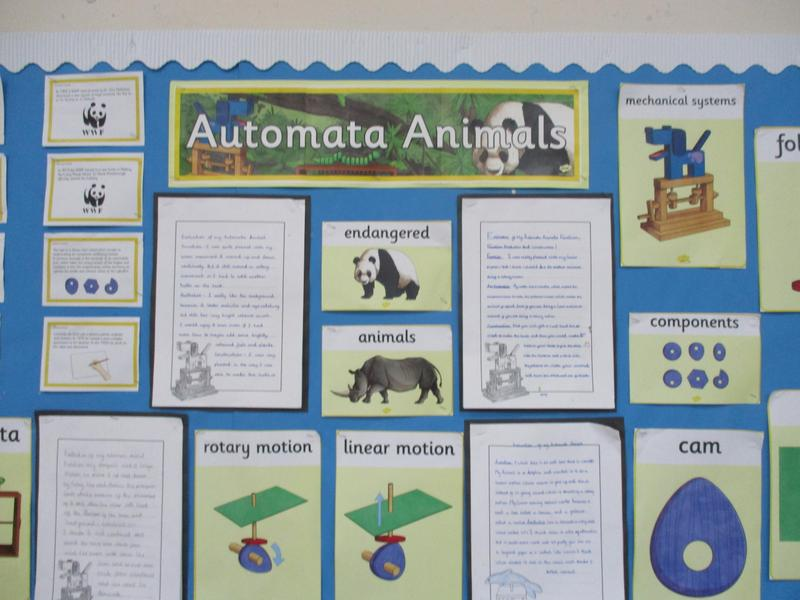 Class 4's project on endangered animals