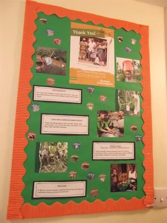 Oxfam display