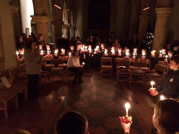 Whole School Christingle Service at St Kenelm's