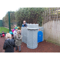 Class 1's outside area