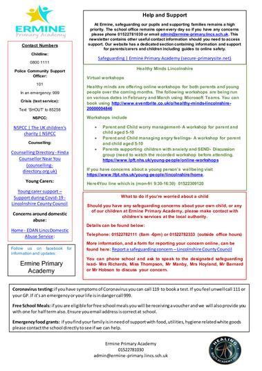 links in the pdf below