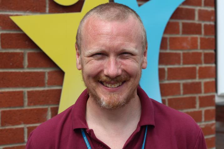 Mr R Barnard Class 7 teacher (Maths&History)