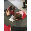 We are learning to write play scripts in English too!