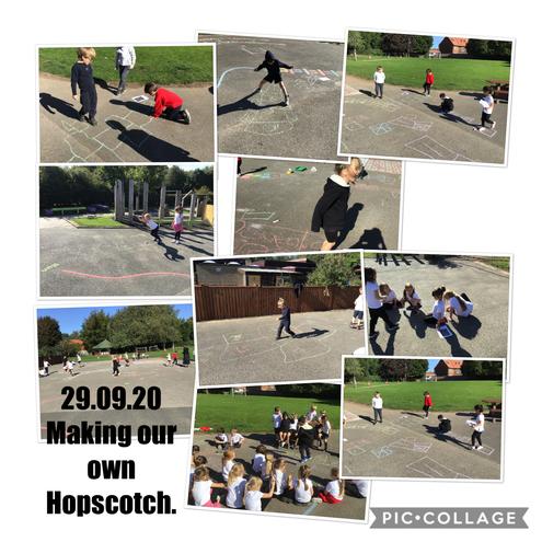 Year 1 Hopscotch