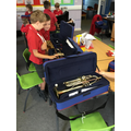 Meeting Mr Novell - our specialist brass teacher