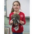 A very life-likfe mammoth