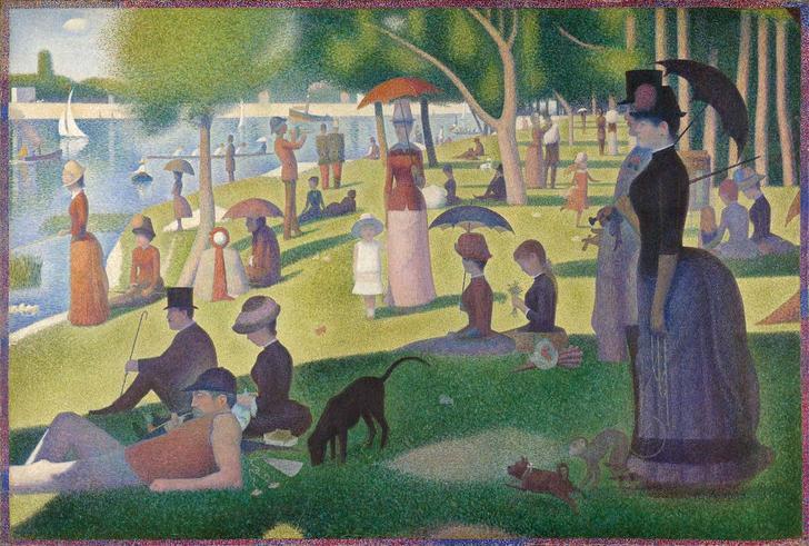 "Seurat - ""A Sunday on La Grande Jatte"" (1884)"