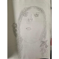 Another brilliant self portrait in the style of Frida Kahlo.