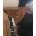 Mrs Stembridge loves to play the piano.