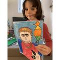 What a fantastic self-portrait.