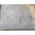 Lacie's fantastic drawing