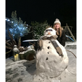 Lucy's snowman