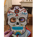 Another fab skull mask!