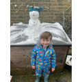 Wonderful snowman from D.