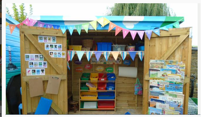 Reading and Writing Shed